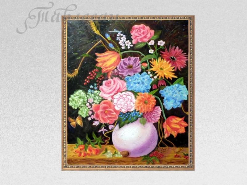 Картина Весенний натюрморт в голландском стиле холст масло