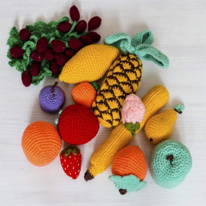 Вязанные фрукты