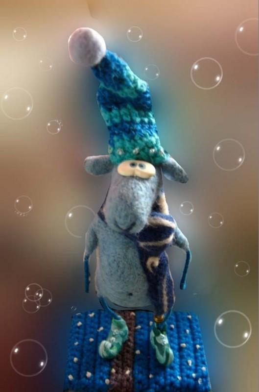Овечик в шарфике