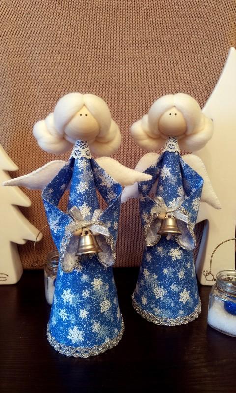 Рождественский ангелочек-Снегурочка