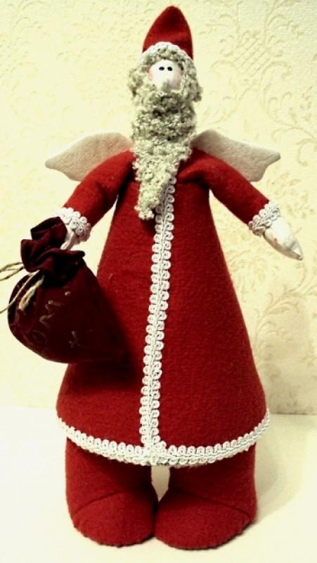 Интерьерная игрушка Ангел Дед Мороз.