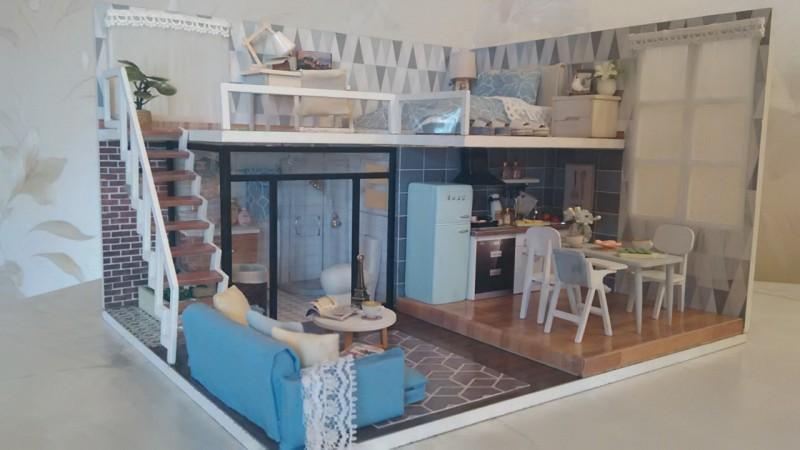 Кукольный домик с освещением