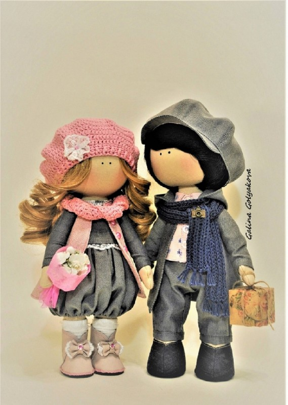 Куклы интерьерные (пара)