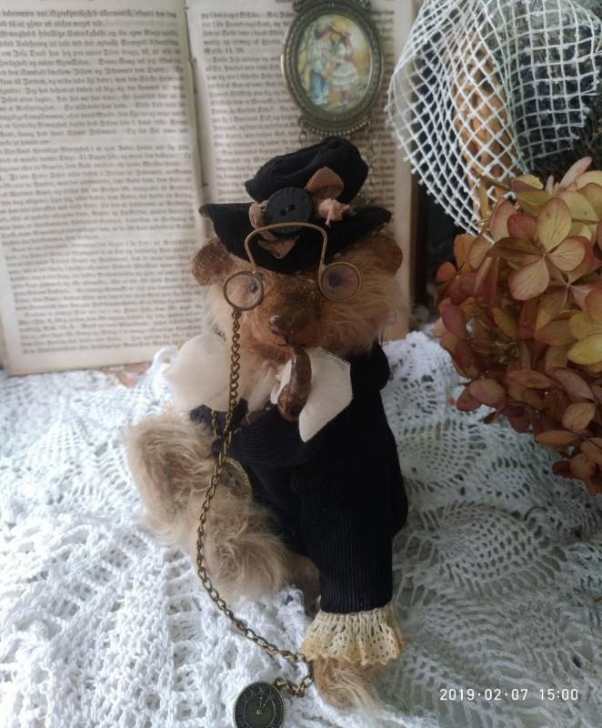 Оливер мишка тедди ручной работы