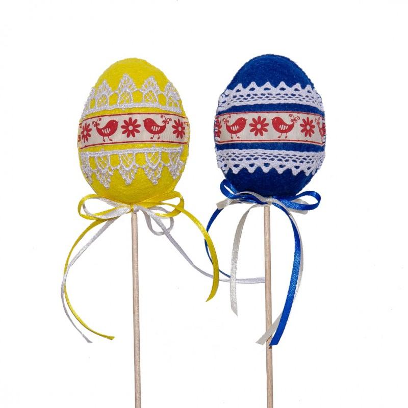 Пасхальные яйца из фетра