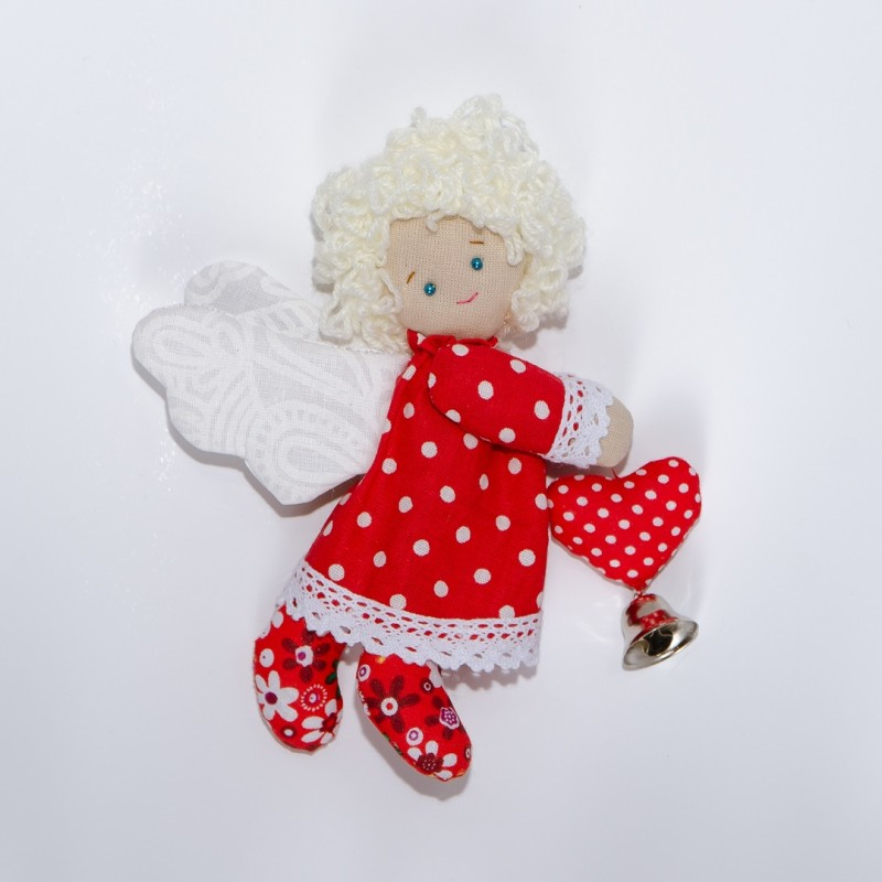 Текстильный Пасхальный ангел