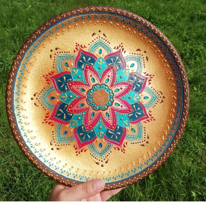Интерьерные декоративные тарелки