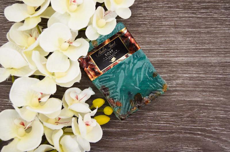 Твердое мыло с добавлением янтаря AmberJewel