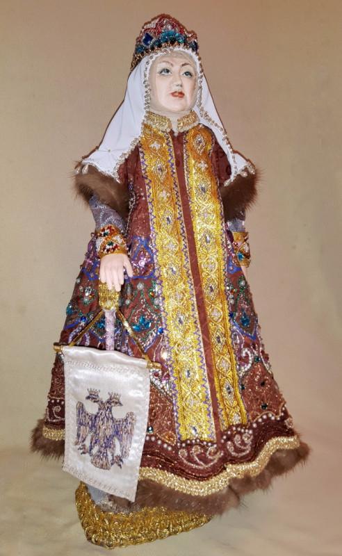 Исторический костюм Россия, 16 век. София Палеолог