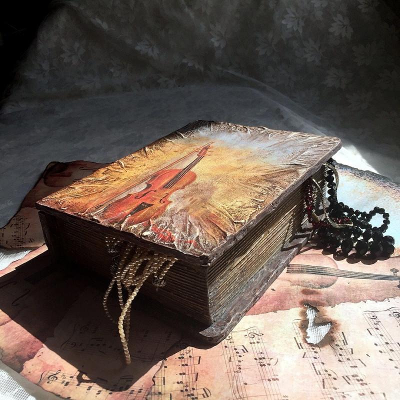 """Шкатулка-книжка """" А музыка звучит"""