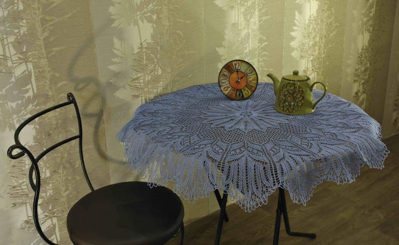 Декоративная скатерть Цикорий