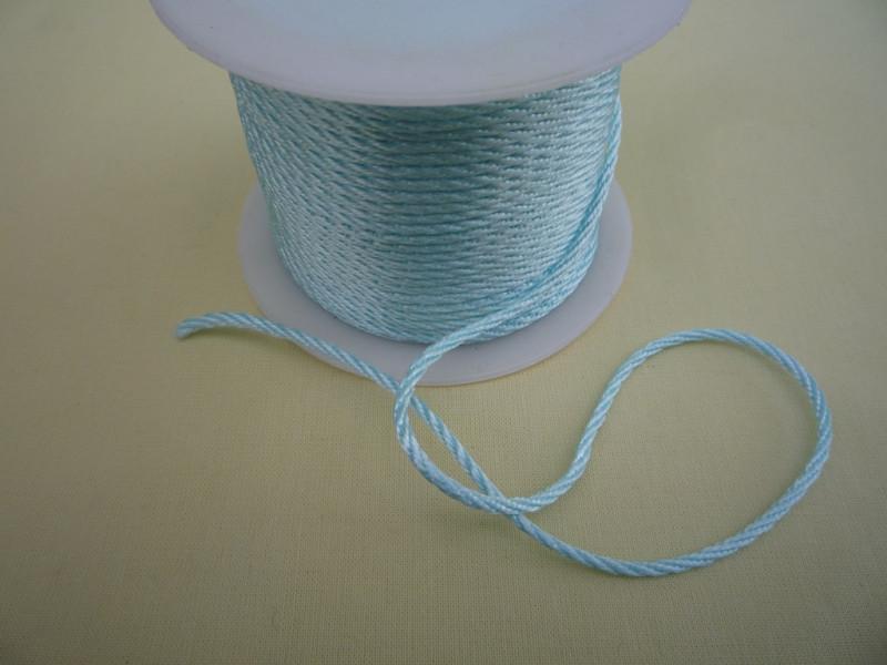 Атласный плетённый шнур    (36м)