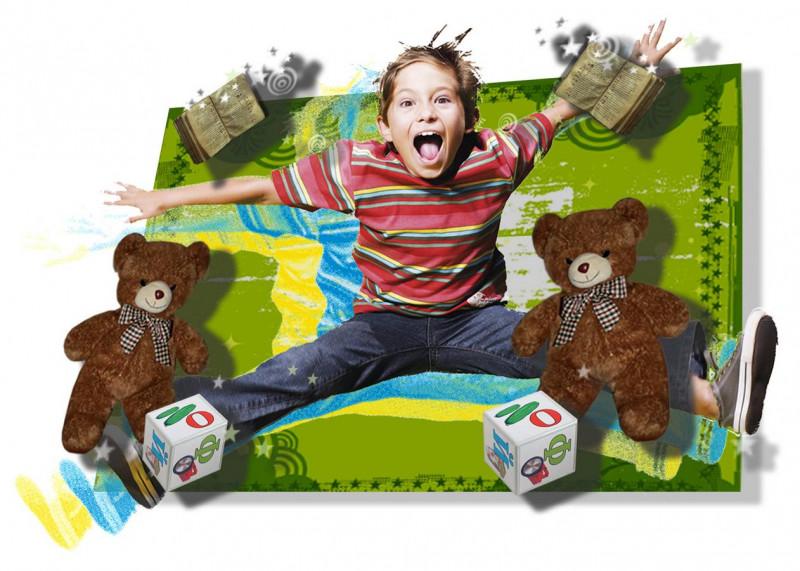 Детское лентикулярное трёхмерное фото на заказ