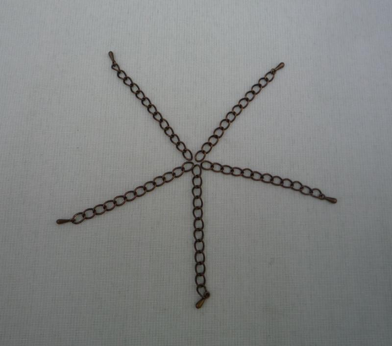 Расширение с капелькой на конце-для цепочек, ожерелья, бус, шнурков (2 вида). 20шт
