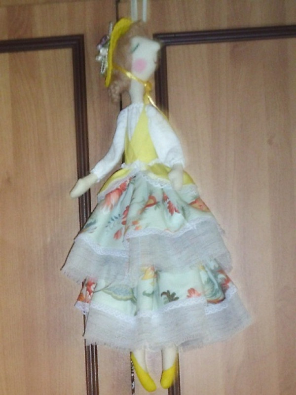Кукла интерьерная тильда  Ангел