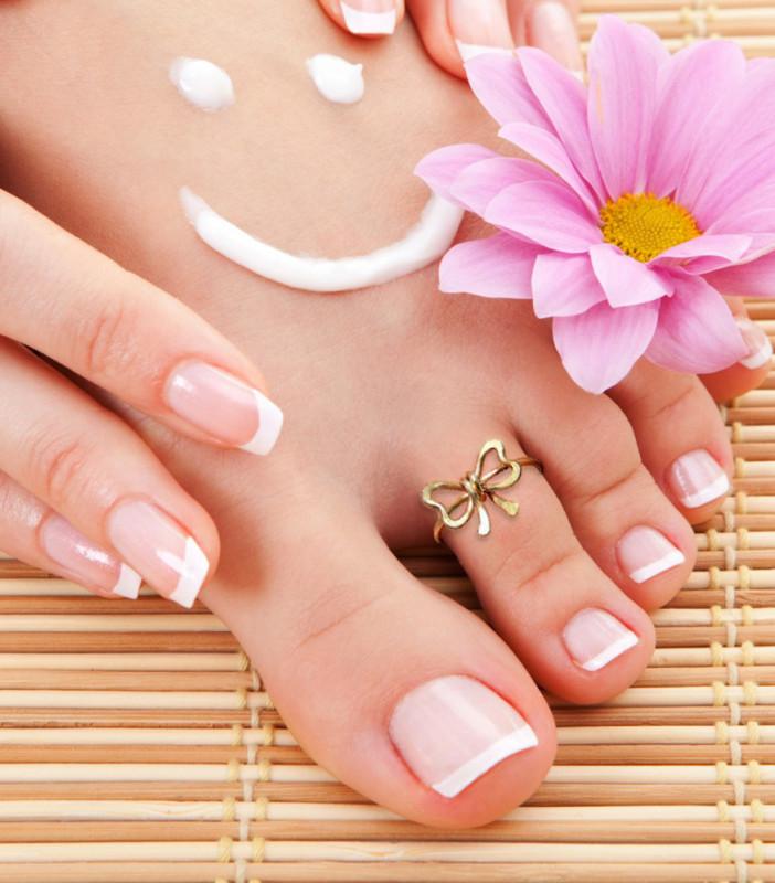 Кольцо на палец ноги `Бантик`.