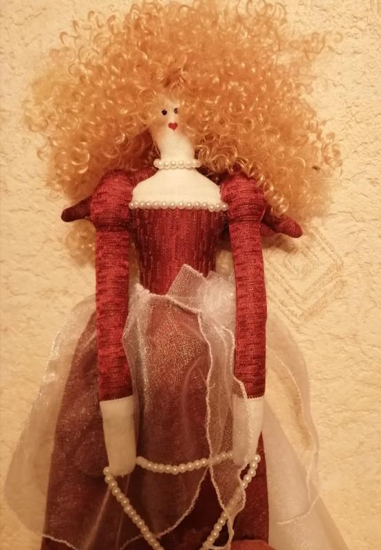 По мотивам кукол тильда