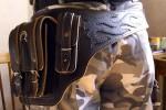 Сумка-пояс байкерская