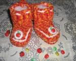 Пинетки - сапожки для малышей