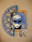 Панно Венецианская маска