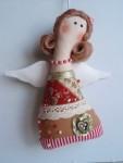 Мягкая кукла-ангелочек