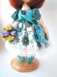 Коллекционная кукла Неля