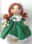 Коллекционная кукла Людмила.для примера