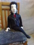 Текстильная кукла «Серж»