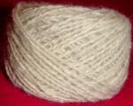 Пряжа «Белый Снег» ручного  прядения