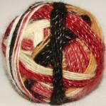 Пряжа «Радуга-1» дизайнерская для ручного вязания .