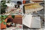 Винтажный блокнот для рукодельницы с вышитым мотивом