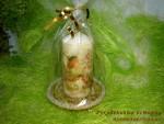 Свеча и подсвечник «На кануне Рождества»