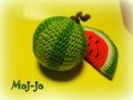 Вязаная фруктово-ягодная корзинка Витаминка.