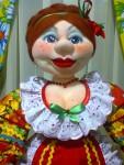 Кукла  интерьерная  Марфуша. Выставлена для примера.