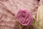 Ободок с розой.
