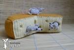 Игрушка шутка мыши в сыре.