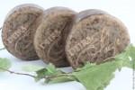 Шампуневое мыло ДЕГТЯРНОЕ с керамидами шерсти (твердый шампунь)