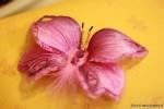 Бабочка из ткани