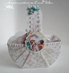 Коробочка для подарка Корзина с поздравлениями