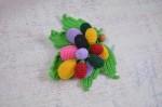Вязаная игрушка - подвеска на слингобусы