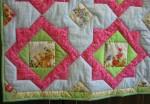Детское лоскутное одеяло.