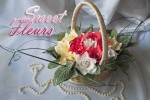 Корзина из конфет «Нежность июня»