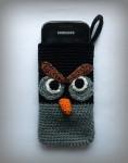 Вязаные чехлы на телефон. Птички Энгри бёрдз