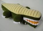 Вязаный крокодил