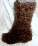 Носки   кашемировые зимние толстые  вязанные арт. №26м из пуха банхара .