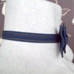 Галстук бабочка джинсовая