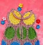 Платье вязаное летнее для девочки