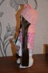 Интерьерная текстильная кукла Розочка
