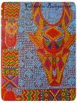 Этно-панно *Легенды Африки*