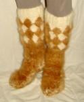 Носки «ТАЙГА» мужские из собачьей шерсти